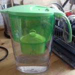 Nem veszünk palackos vizet, helyette vízszűrőt használunk